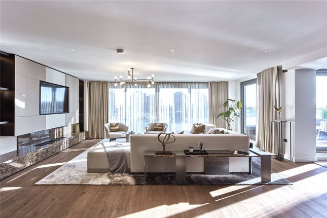 Thumbnail Flat for sale in Chelsea Waterfront, Compton House, Waterfront Drive, London