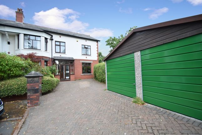 Thumbnail Semi-detached house for sale in Elm Grove, Prestwich, Manchester