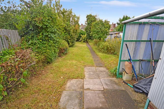 Garden of Benedictine Road, Cheylesmore, Coventry CV3