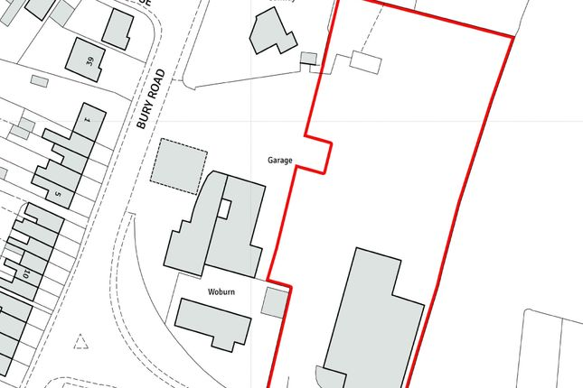 Thumbnail Land for sale in Bury Road, Ramsey