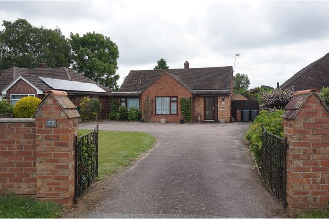 Thumbnail Detached bungalow for sale in Old Barrack Road, Woodbridge