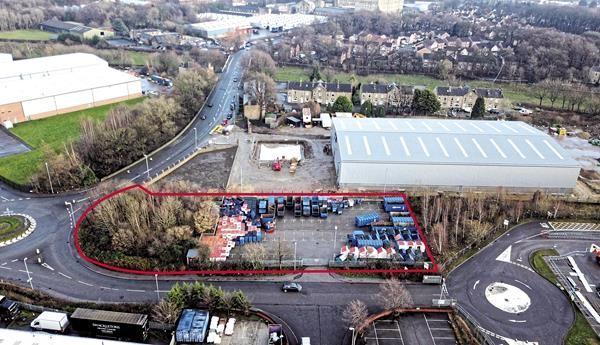 Thumbnail Land for sale in Weaving Lane Depot, Weaving Lane, Dewsbury