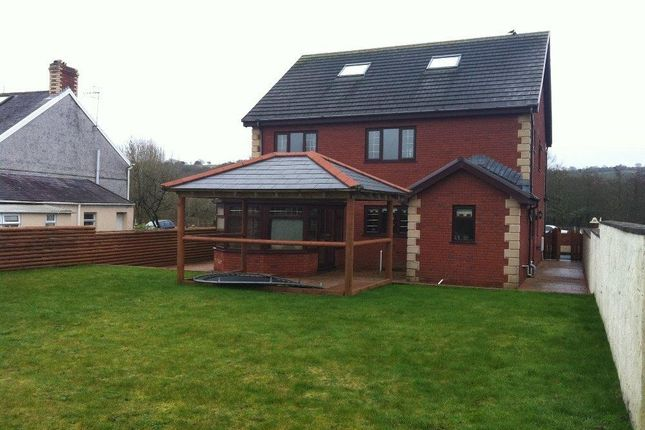 Thumbnail Detached house to rent in Ystrad Road, Fforestfach, Swansea