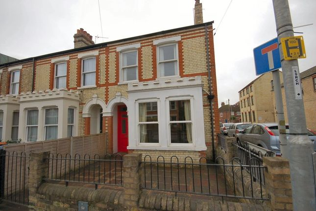 Thumbnail End terrace house to rent in Cherry Hinton Road, Cherry Hinton, Cambridge