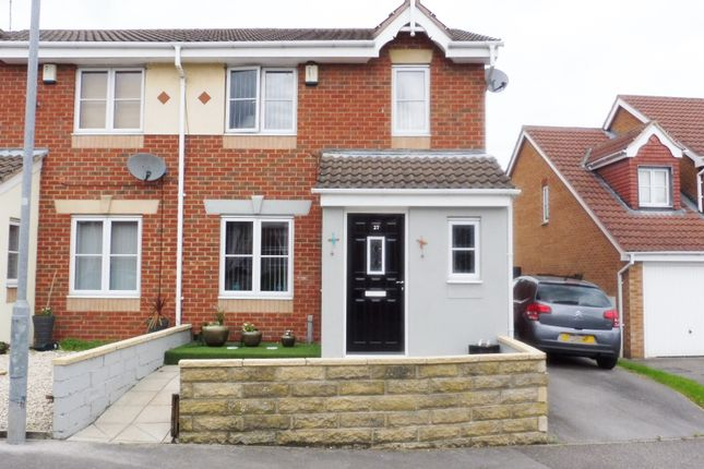Front View of Manor Fields, Great Houghton S72