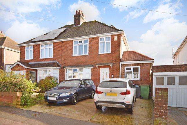 Thumbnail Semi-detached house for sale in Warren Way, Folkestone