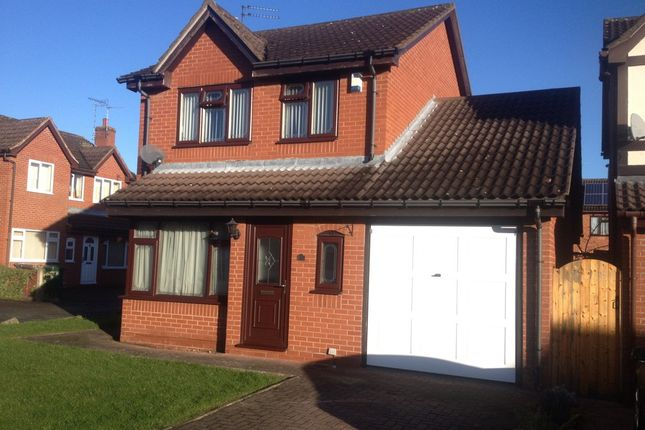 Thumbnail Detached house to rent in Northfield, Stenson Fields, Derby