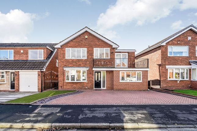 Thumbnail Detached house for sale in Withington Drive, Astley, Tyldesley, Manchester