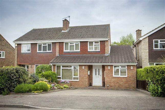 Thumbnail Semi-detached house for sale in Grange Rise, Codicote, Hertfordshire