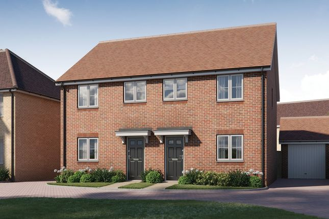 Thumbnail Semi-detached house for sale in Tavistock Place, Bedford, Bedford