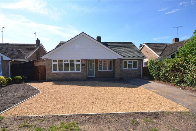 Thumbnail Detached bungalow for sale in Bell Lane, Blackwater, Surrey