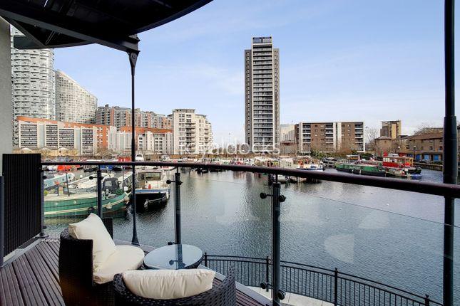 Balcony of Boardwalk Place, London E14