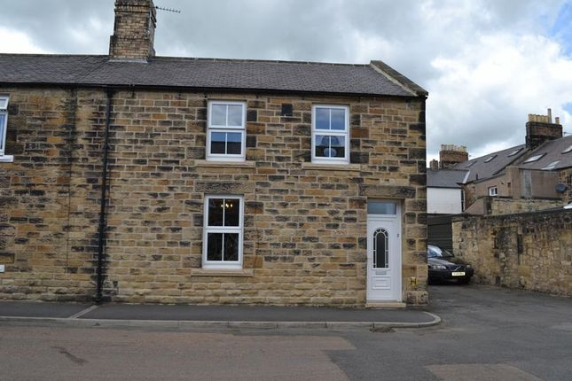 Thumbnail Terraced house for sale in Queen Street, Alnwick