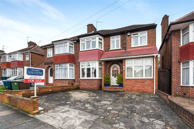Thumbnail Semi-detached house for sale in St. Andrews Drive, Stanmore, Middlesex