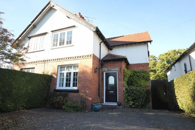 Thumbnail Semi-detached house for sale in Parkgate Lane, Thornton Hough, Cheshire