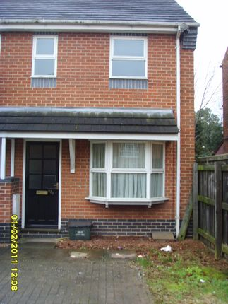 Thumbnail End terrace house to rent in Gedling Grove, Arnold