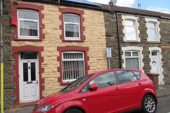 Thumbnail Terraced house for sale in Greenfield Street, Bargoed