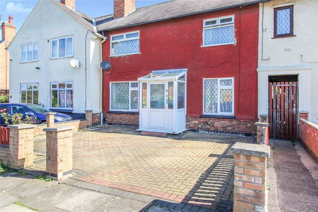 Front of Winton Avenue, Leicester LE3