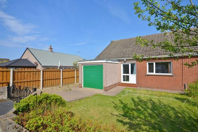 Thumbnail Semi-detached bungalow for sale in Oakley Avenue, High Harrington, Workington