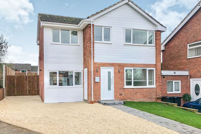 Thumbnail Detached house for sale in Hicks Close, Warwick