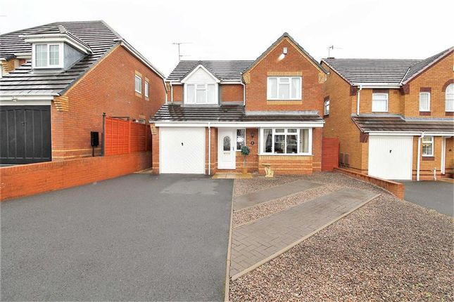 Thumbnail Detached house for sale in Berkswell Close, Milking Bank, Dudley