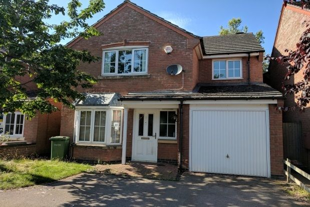 Thumbnail Detached house to rent in Fludes Court, Oadby, Leicester