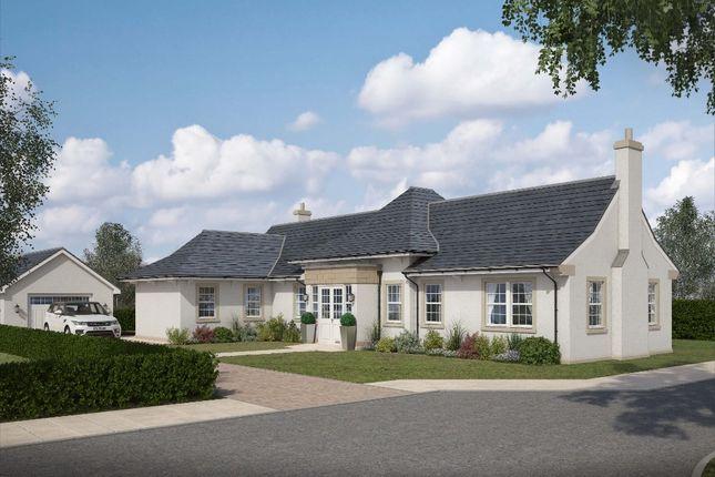 Thumbnail Detached bungalow for sale in Castleton Gardens, Auchterarder, Perthshire