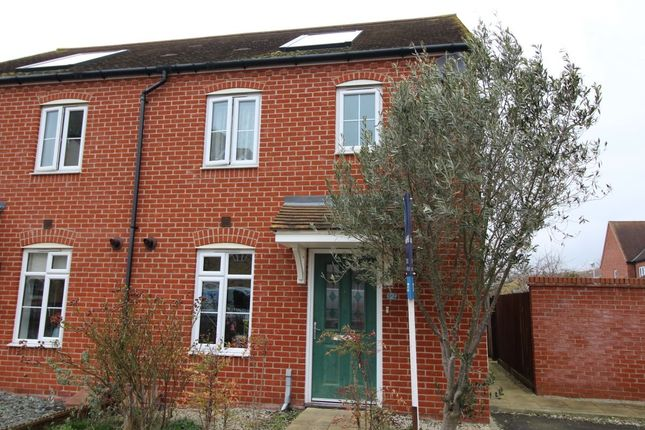 Thumbnail Semi-detached house to rent in Hildesley Close, Sittingbourne
