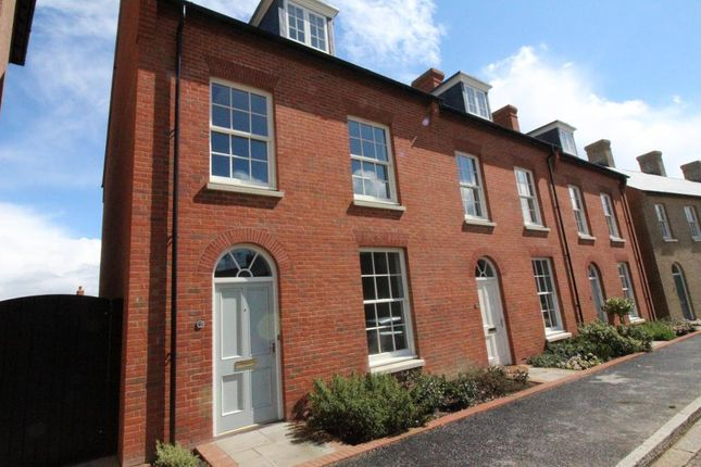 Thumbnail Town house to rent in Reeve Street, Poundbury, Dorchester, Dorset