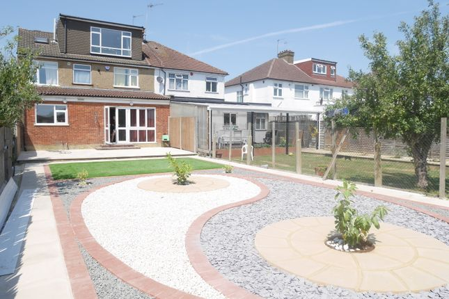 Thumbnail Semi-detached house to rent in Hunters Grove, Kenton