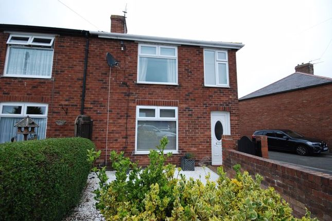 Thumbnail Terraced house to rent in Woodhorn Crescent, Newbiggin-By-The-Sea