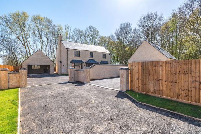 Thumbnail Detached house for sale in Oundle Road, Alwalton, Peterborough