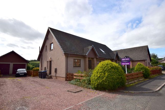 Thumbnail Semi-detached house for sale in Haughhead Road, Earlston