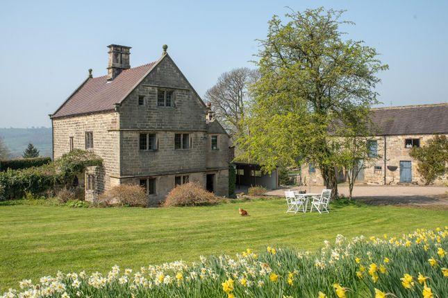 Thumbnail Farmhouse for sale in The Hawthorns, Wirksworth, Matlock