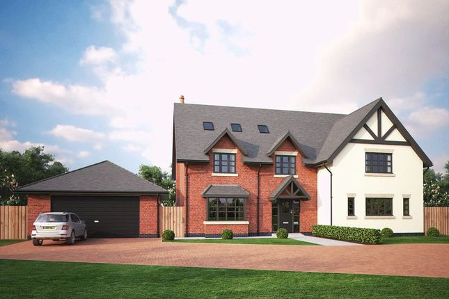 Thumbnail Detached house for sale in Swan Farm Lane, Audlem Road, Woore, Crewe