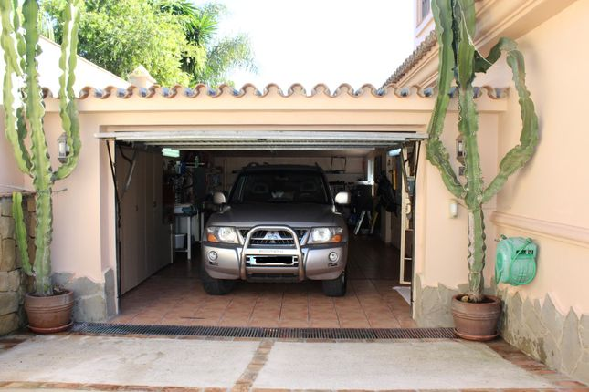 Garage of Bel-Air, Marbella, Málaga, Andalusia, Spain