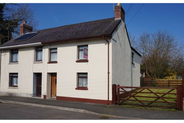Thumbnail Semi-detached house for sale in Church Bank, Llandovery
