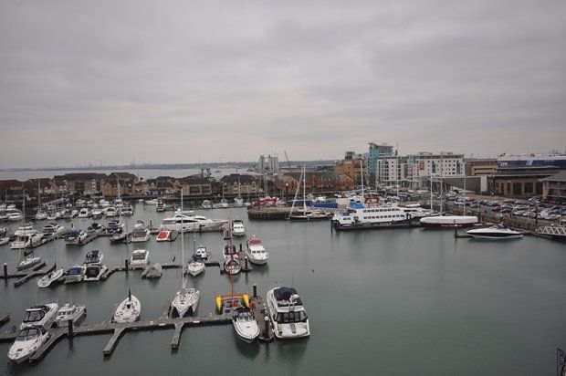 Thumbnail Flat to rent in Sirocco Channel Way, Ocean Village, Southampton