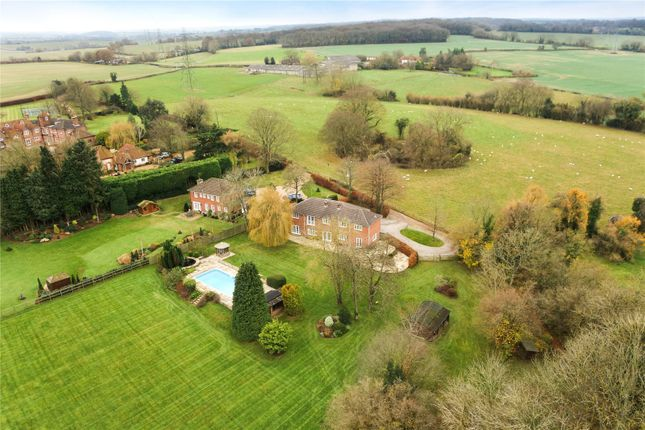 Thumbnail Detached house for sale in Crondall, Farnham, Surrey