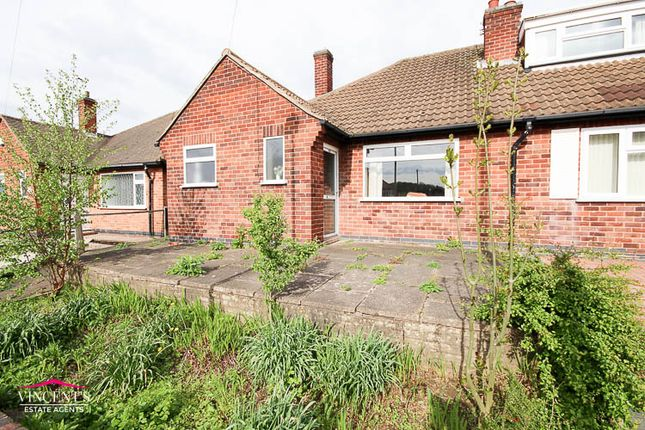Thumbnail Bungalow for sale in Chislehurst Avenue, Leicester