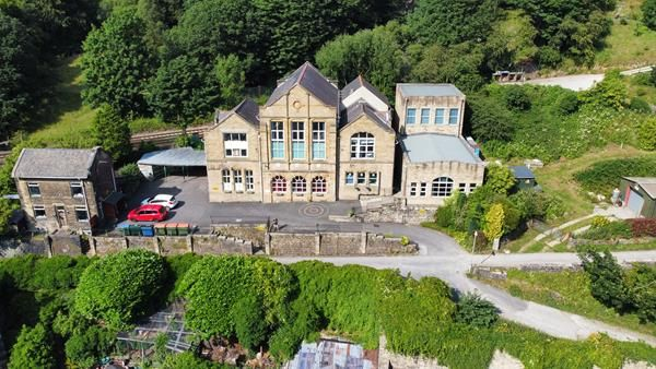 Thumbnail Land for sale in The Old School, Jumps Road, Todmorden