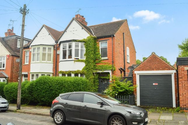 Thumbnail Semi-detached house for sale in Howard Road, Clarendon Park, Leicester