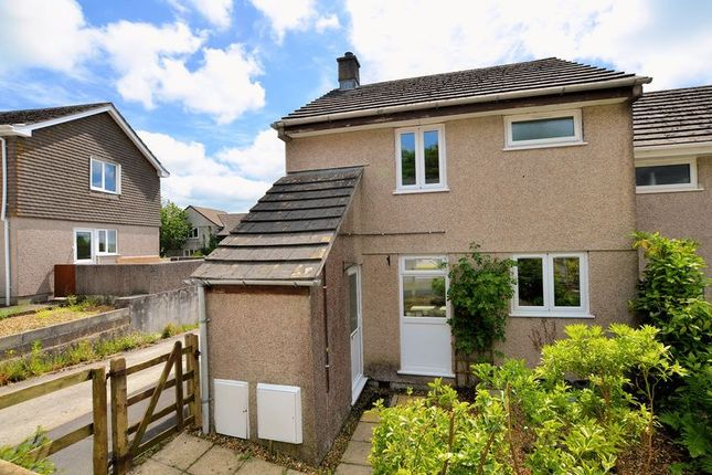 Thumbnail End terrace house for sale in Monksmead, Tavistock
