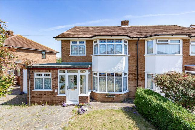 Thumbnail Semi-detached house for sale in Dawson Drive, Rainham