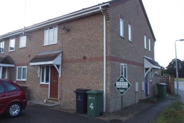 Thumbnail Terraced house to rent in Thistle Close, Thetford