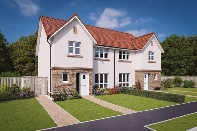 "Thumbnail Semi-detached house for sale in ""The Banton"" at Jardine Avenue, Falkirk"