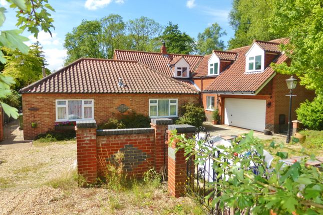 Thumbnail Detached house for sale in Station Road, Wendling