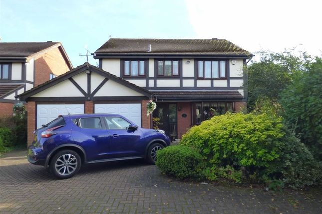 Thumbnail Detached house for sale in Camrose Gardens, Pendeford, Wolverhampton