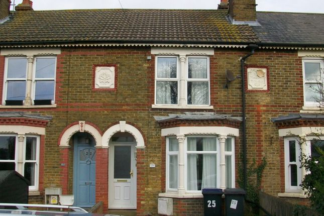 Thumbnail Terraced house to rent in Belmont Road, Whitstable