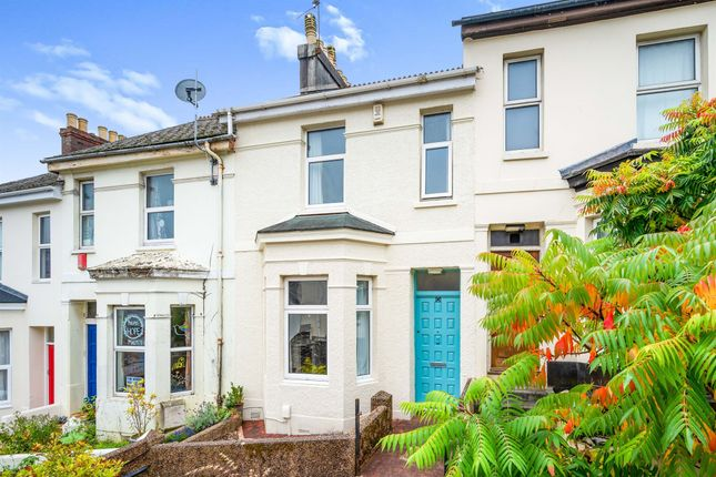 Thumbnail Terraced house for sale in West Hill Road, Mutley, Plymouth